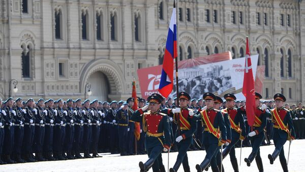 Military parade to mark the 75th anniversary of WWII Victory in Moscow - Sputnik International