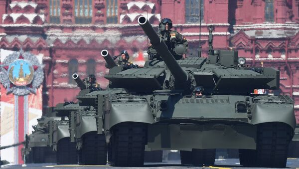 Russian T-72B3 Tank During the V-Day Parade, Commemorating the 75th Anniversary of the Victory in the WWII in Moscow. 24 June 2020 - Sputnik International