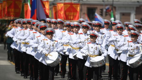 Military parades in Russian cities to commemorate 75th anniversary of Victory in World War II - Sputnik International