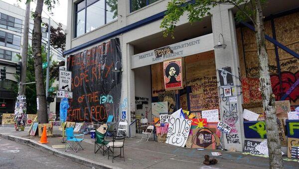 Protests in Seattle - Sputnik International