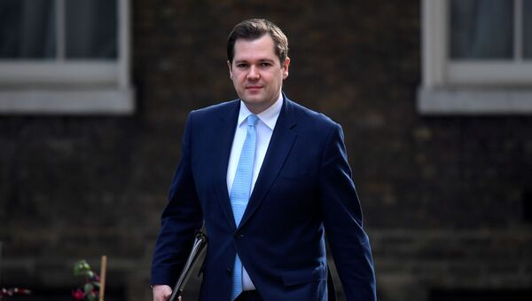 Secretary of State for Housing, Communities and Local Government Robert Jenrick arrives on Downing Street, following the outbreak of the coronavirus disease (COVID-19), London, Britain, June 9, 2020 - Sputnik International