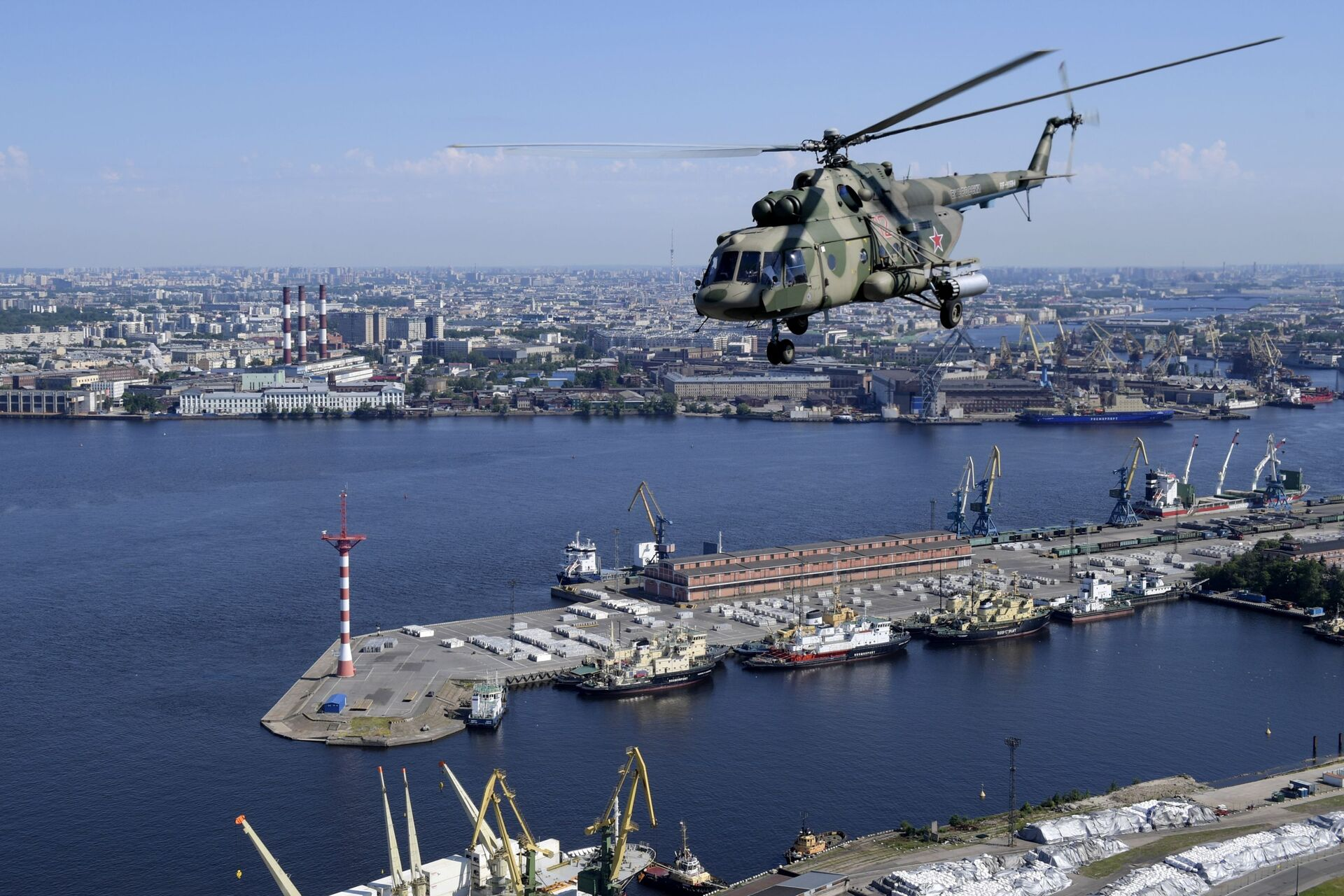 The aerial part of the parade was also held in St. Petersburg - Sputnik International, 1920, 18.09.2021