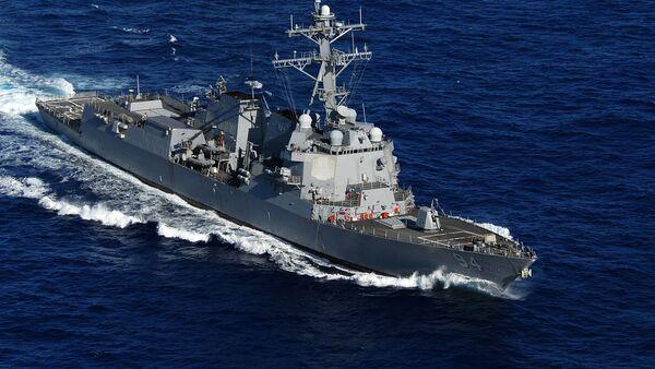 The guided-missile destroyer USS Nitze (DDG 94) - Sputnik International