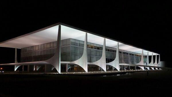 Palácio do Planalto - Sputnik International