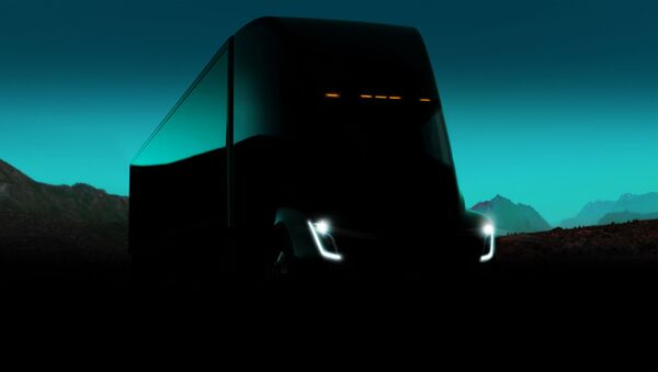 The Tesla Semi will deliver a far better experience for truck drivers, while increasing safety and significantly reducing the cost of cargo transport. - Sputnik International