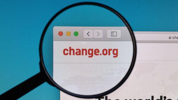 Change.org - Sputnik International