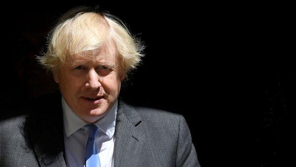FILE PHOTO: Britain's Prime Minister Boris Johnson leaves 10 Downing Street, following the outbreak of the coronavirus disease (COVID-19), London, Britain, June 23, 2020. REUTERS/Toby Melville/File Photo - Sputnik International