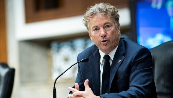 Kentucky Republican Senator Rand Paul speaks during a Senate Health, Education, Labor and Pensions Committee hearing on efforts to get back to work and school during the coronavirus disease (COVID-19) outbreak, in Washington, DC, US, 30 June 2020. - Sputnik International