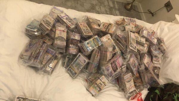 Money recovered by Operation Venetic - Sputnik International