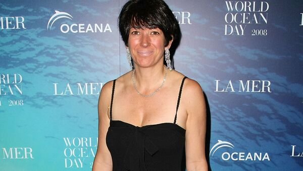 (FILES) In this file photo taken on June 04, 2008, Ghislaine Maxwell, attends the La Mer and Oceana celebration for World Ocean Day 2008 at 620 Loft & Garden in New York City. - Maxwell, the former girlfriend of late financier Jeffrey Epstein, was arrested in the United States on July 2, 2020, by FBI officers investigating his sex crimes, multiple US media outlets reported - Sputnik International