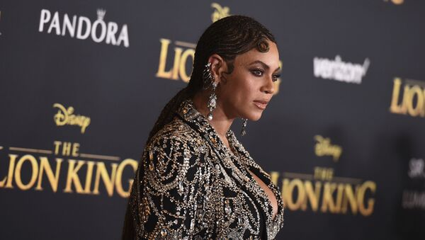 Beyonce arrives at the world premiere of The Lion King on Tuesday, July 9, 2019, at the Dolby Theatre in Los Angeles - Sputnik International