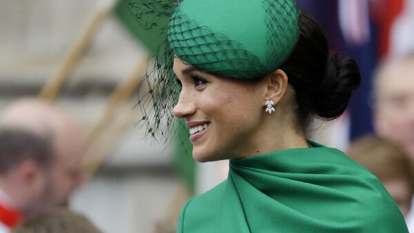 FILE - In this Monday, March 9, 2020 file photo, Britain's Meghan, the Duchess of Sussex leaves after attending the annual Commonwealth Day service at Westminster Abbey in London - Sputnik International