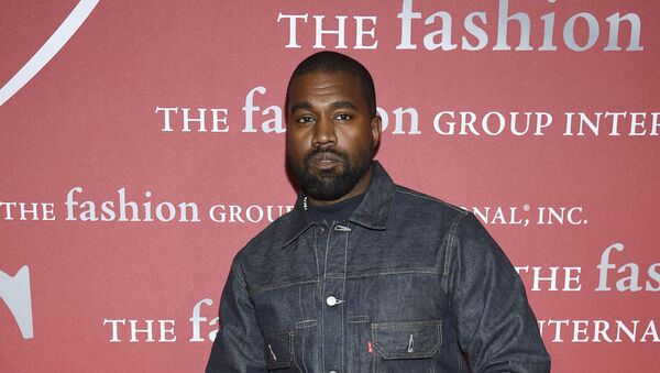 Recording artist Kanye West attends The Fashion Group International's annual Night of Stars gala at Cipriani Wall Street on 24 October 2019, in New York. - Sputnik International