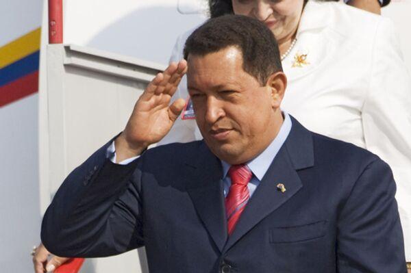 Chavez and his Turkmen counterpart Gurbanguly Berdymukhammedov will hold official talks on Monday. - Sputnik International