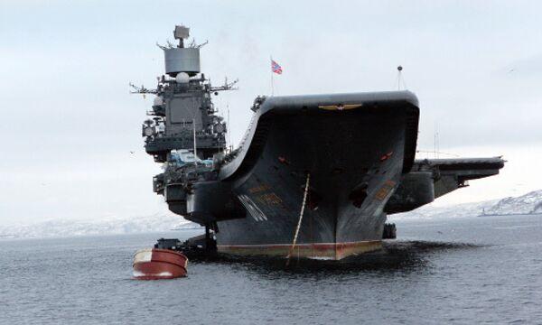 Russian aircraft carrier blueprint to be ready by yearend - Sputnik International