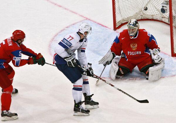 Чемпионат мира по хоккею 2009. Россия - Франция - Sputnik International
