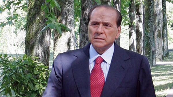 Berlusconi in hospital after Milan attack - Sputnik International
