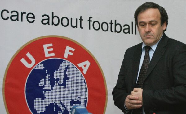 Michel Platini - Sputnik International