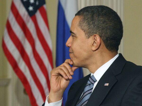 Пресс-конференция президентов России и США Д. Медведева и Б. Обамы - Sputnik International