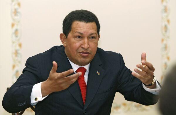Уго Чавес - Sputnik International