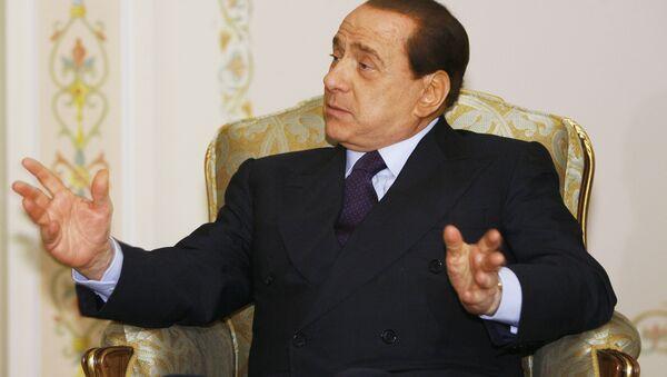 Italian Prime Minister Silvio Berlusconi  - Sputnik International