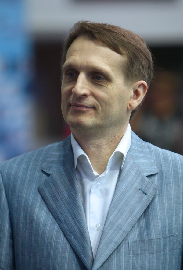 Presidential chief of staff Sergei Naryshkin, who is also commission chairman, told a meeting that there were increasing instances of biased and even cynical treatment of our country's history, as well as of European and world history. - Sputnik International