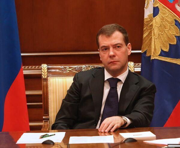 Medvedev says food security, stable grain prices priority - Sputnik International
