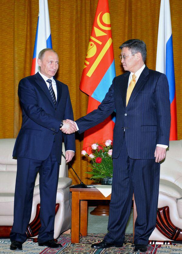 Визит премьер-министра РФ Владимира Путина в Монголию - Sputnik International