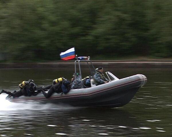 Water Police defuse mock-up bomb in Moskva River - Sputnik International