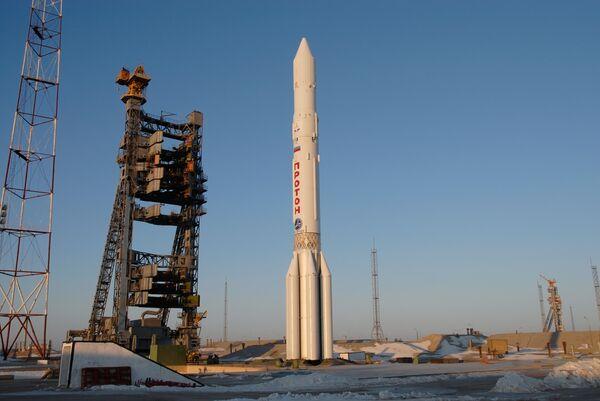 Proton launch delayed due to problem with Glonass satellite - Sputnik International