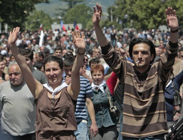 Massive anti-abortion rally in Spain - Sputnik International