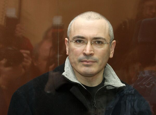 Khodorkovsky accuses Russia's security service of wiretapping - Sputnik International