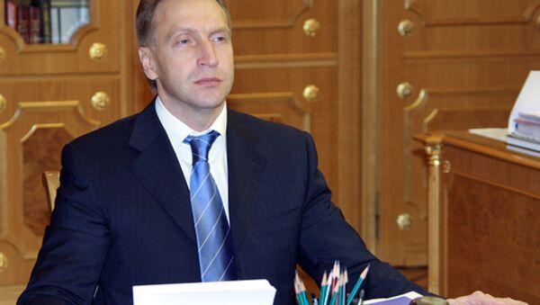 Way clear for Russia, Belarus, Kazakhstan Customs Union - Shuvalov - Sputnik International