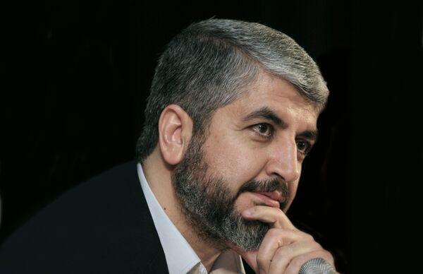 Лидер ХАМАС  Халед Машааль - Sputnik International