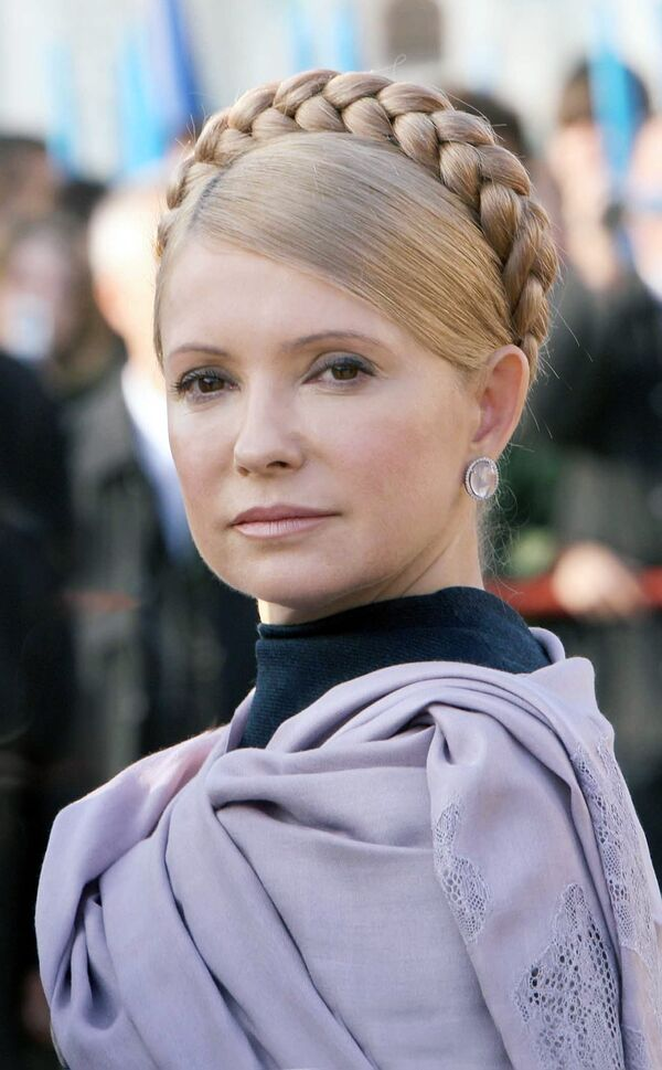 Tymoshenko says gas problems with Russia almost overcome - Sputnik International