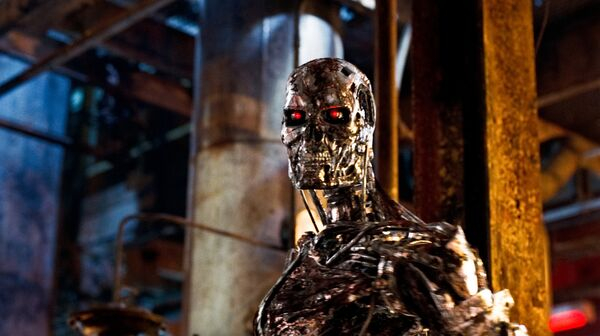 The Paramount Pictures film studio plans to add two sequels to the Terminator franchise, which is starting off next summer with the Terminator: Genisys movie. - Sputnik International