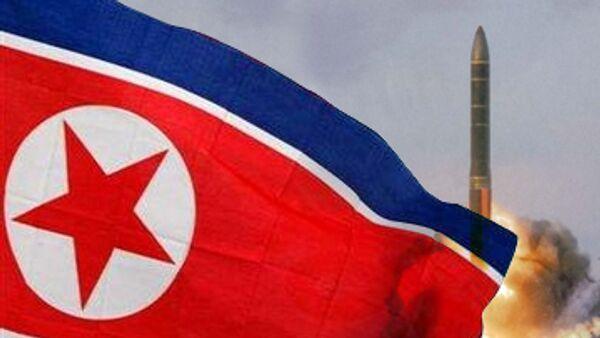 N.Korea test launches 4 short-range missiles in one day - Sputnik International