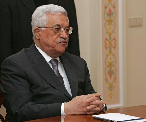 PNA says no talks until Israel freezes settlement construction  - Sputnik International