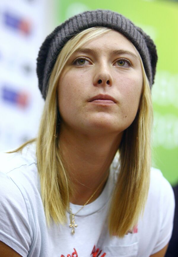 Former world no. 1 Maria Sharapova recently returned to tennis after 10 months out with a shoulder injury, and quickly rose from 102nd place to 30th in WTA rankings in late August. - Sputnik International