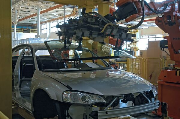 На автозаводе Группы ГАЗ запущено производство легкового автомобиля Siber - Sputnik International