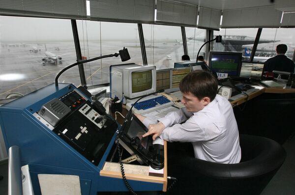 Работа служб Международного аэропорта Шереметьево-1 - Sputnik International