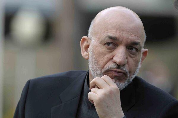 Afghanistan's President Hamid Karzai  - Sputnik International