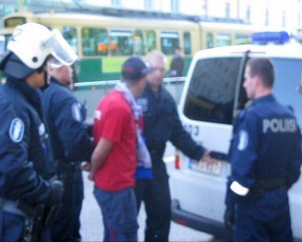 Болельщиков из России задержали за вызывающее поведение в Хельсинки - Sputnik International