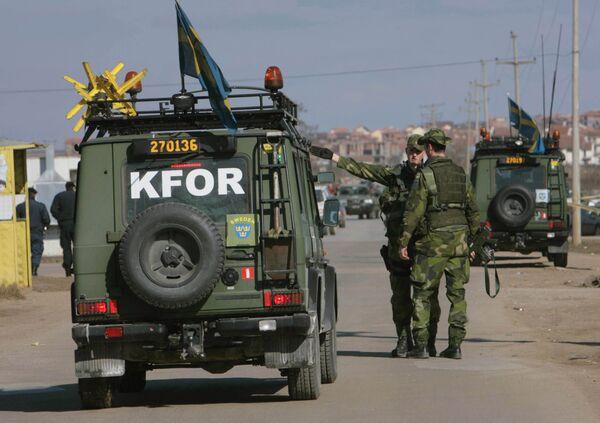 KFOR peacekeepers. Files - Sputnik International
