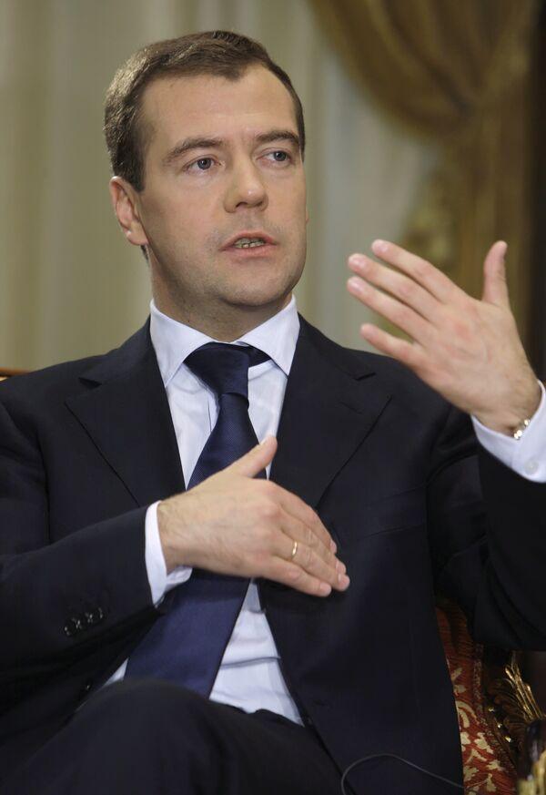 Medvedev moves to simplify rules for non-profit organizations  - Sputnik International