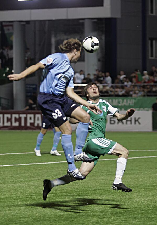 Russian Football Premier League, round 12: Terek Grozny vs. Krylya Sovetov Samara 3-2 - Sputnik International