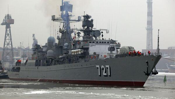 New Russian frigate completes sea trials - Sputnik International