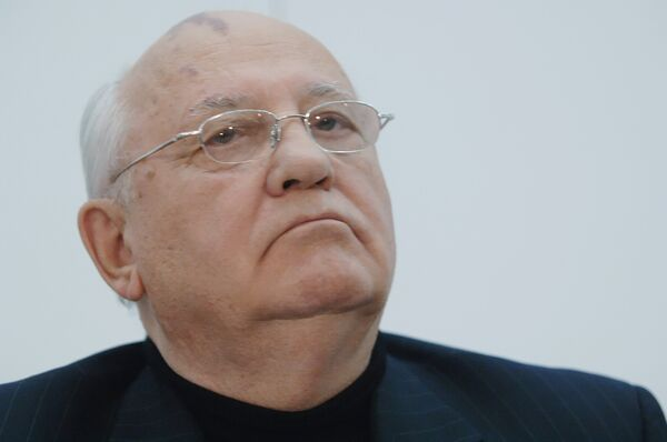 Gorbachev releases disc of his late wife's favorite love songs - Sputnik International