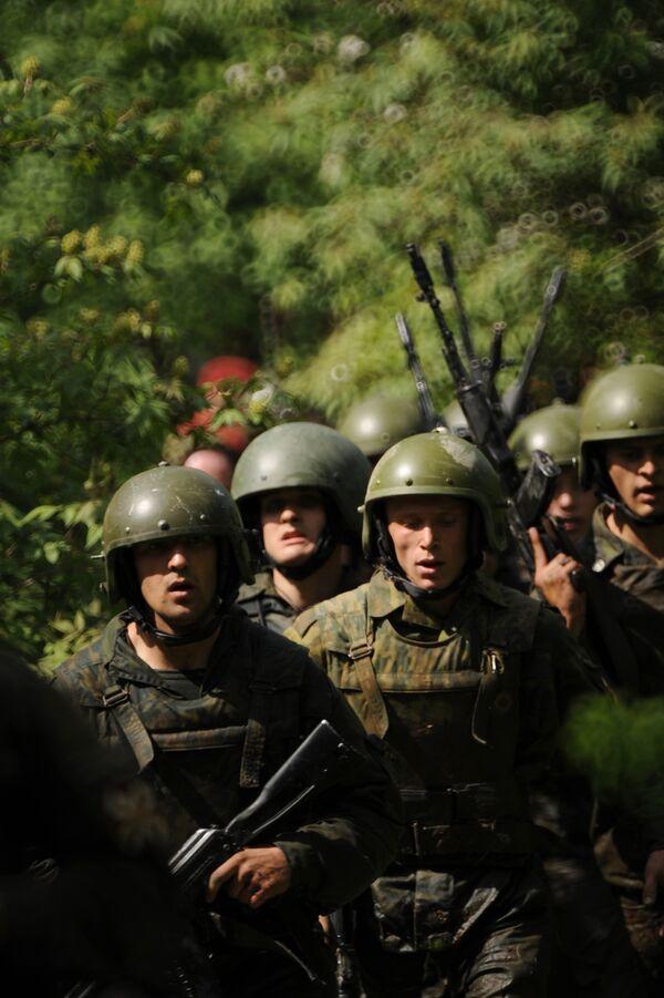 Russian troops prepare for anti-terror drills with China - Sputnik International