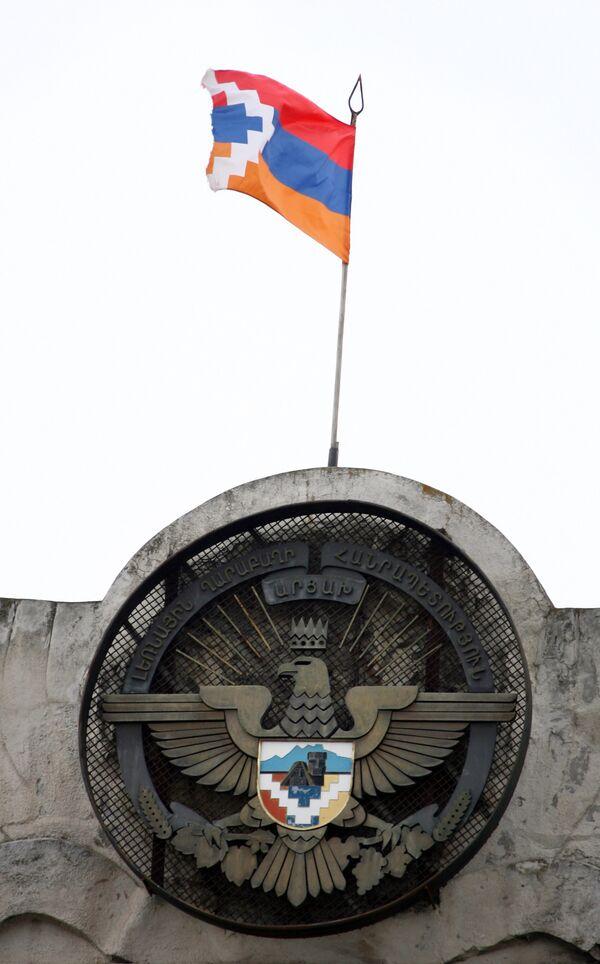 The emblem of the Republic of Nagorny Karabakh - Sputnik International